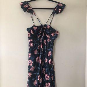 Floral maxi dress 👗